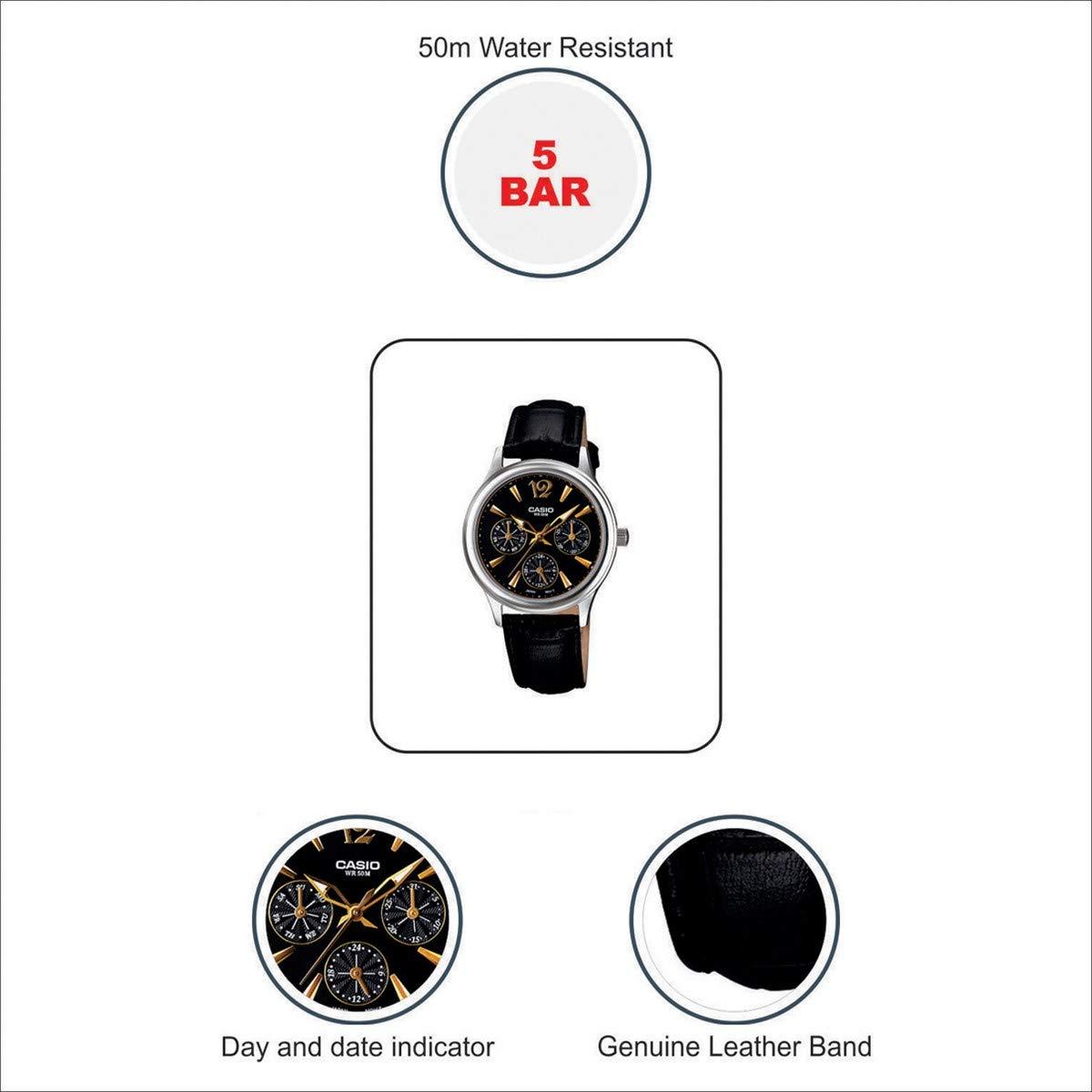 Bewegung Uhr 1av 2085l Ltp Japanischen Mit UhrAmazon Casio Damen 0nwPX8Ok