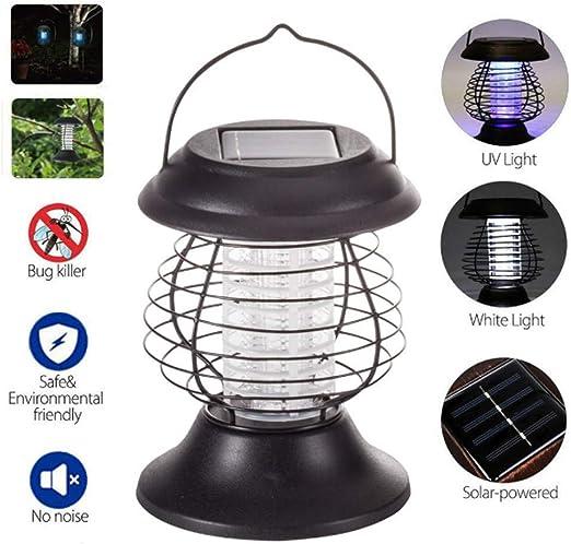 MOCHEN Aspirador De Insectos UV Portátil Solar,Control De Luz ...