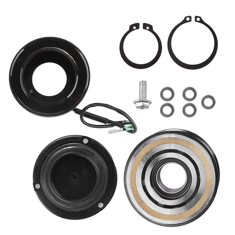 10835C 10348090 AC Compressor Clutch Assy for Toyota Tacoma 2.7L 4.0L 3.5L 2005-2016 Repair Kit Plate Pulley Bearing Coil