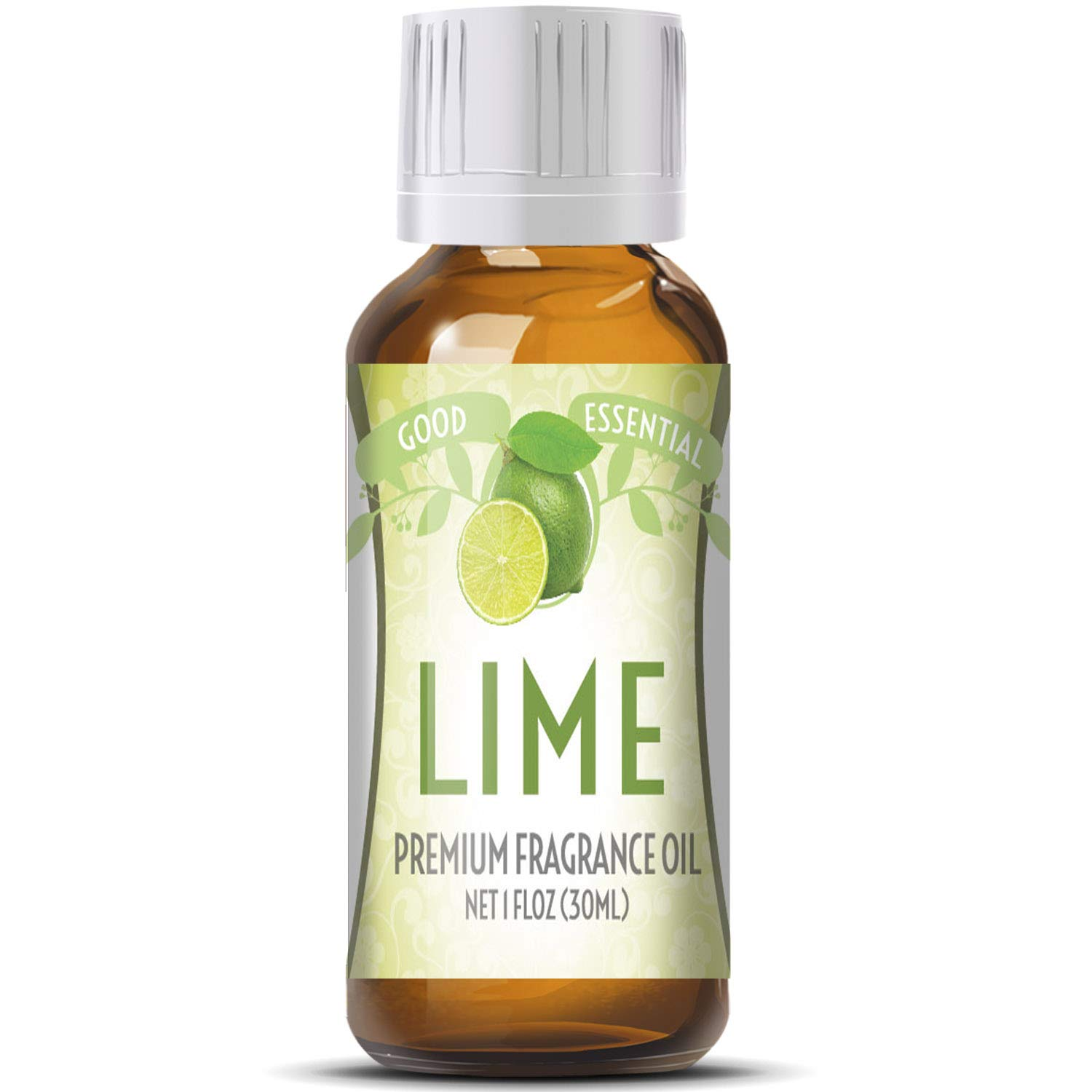Lime Scented Oil by Good Essential (Huge 1oz Bottle - Premium Grade Fragrance Oil) - Perfect for Aromatherapy, Soaps, Candles, Slime, Lotions, More!