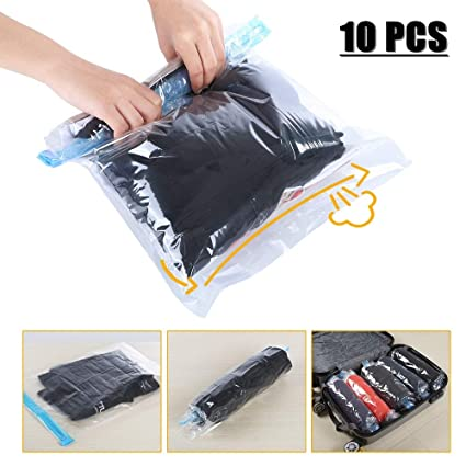 Amazon Com Travel Space Saver Bags Vacuum Travel Storage Bags