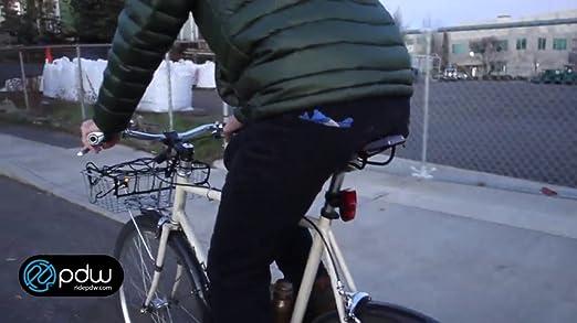 USB Bike Light PDW Gravity Plus 100 lumen recharge rear tail auto brake Charity!