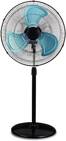 ZAQI Ventilador de pie Ventilador de pie Grande para Patio Exterior Comercial Industrial, Ventiladores oscilantes de Altura Ajustable de 20