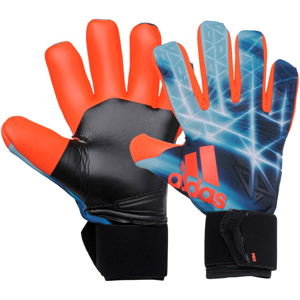 Amazon.com : Adidas Ace Trans Pro Manuel Neuer Goalkeeper Gloves Blue/Black 9 : Sports & Outdoors