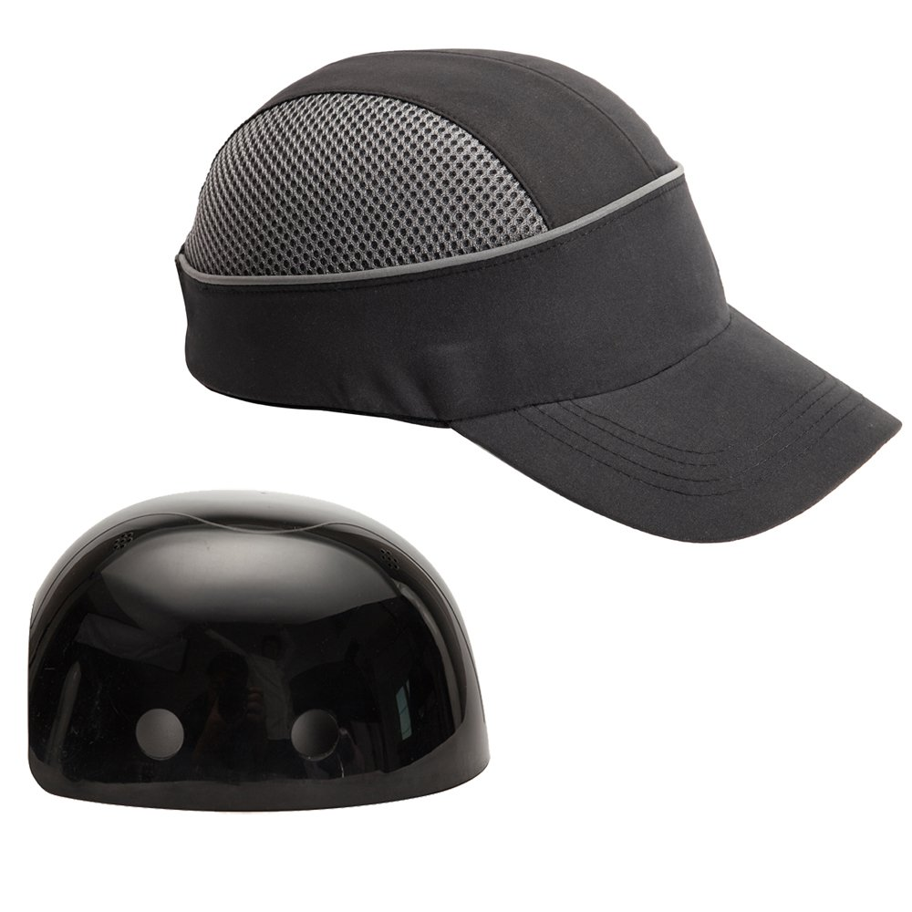 Safety Bump Cap with With Reflective Stripes b7e97cee15a