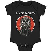 Black Sabbath Never Say Die Onesie, Black (12 Months)