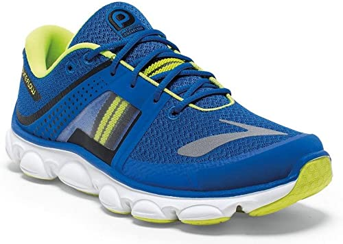 BROOKS Pureflow 4 Zapatilla de Running Junior, Azul/Lima, 33 ...
