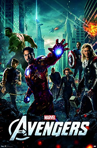 avengers one sheet wall poster