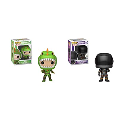 Fortnite Funko Pop Set of 2 - Rex and Dark Voyager: Toys & Games
