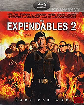 Amazon Com The Expendables 2 2012 Blu Ray Region A Brand New Factory Sealed Movies Tv