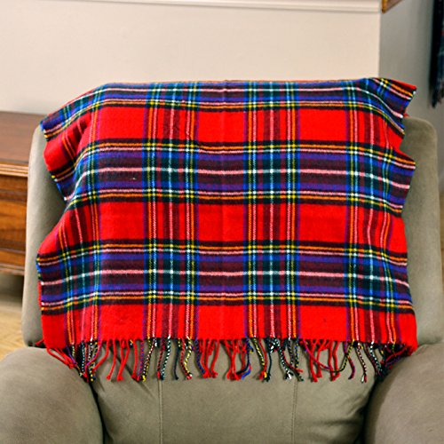 HDE 4-in-1 Oversized All Season Cozy Soft Couch Throw Blanket Flannel Fleece