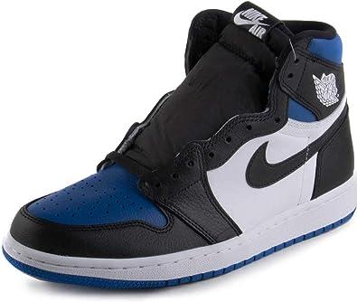 Amazon Com Air Jordan 1 Retro High Og Royal Toe 555088 041