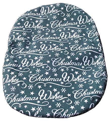 Simple Stoma Cover Ostomy Bag Cover Christmas Wishes Green