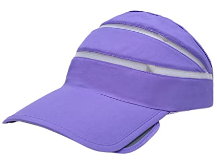 Dry-quick UV Protection Sunhat Womens Outside Sports Cap Lightweight Nylon  Adjustable Hats - Purple 87d98b847f24