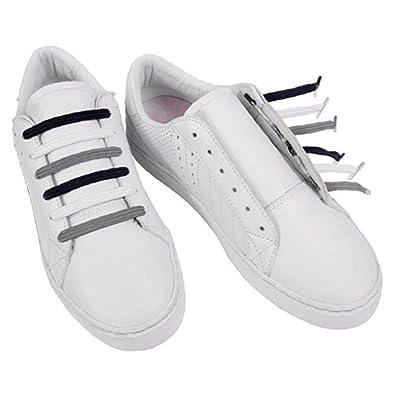 premium selection 9b5a8 3d31a U-LACE CLASSIC Lacets plats élastiques pour chaussures et baskets Vans  Converse Adidas Nike Homme