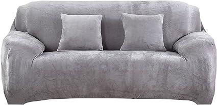 vorcool housse de canape 3 places avec accoudoirs couverture de canape extensible housse de canape anti acariens en polyester 195 230
