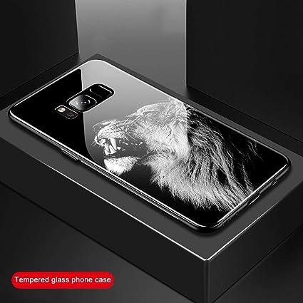 Amazon.com: Funda de cristal templado para Samaung Galaxy S9 ...