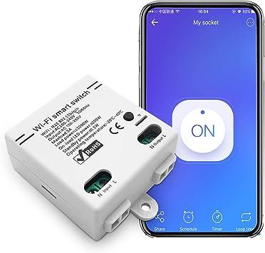 2x Wifi WLAN Switch Smart Schalter Für IOS Android Amazon Alexa APP-Steuerung
