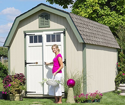 Little Cottage Company Colonial Greenfield 10'x12′ DIY Shed Kit