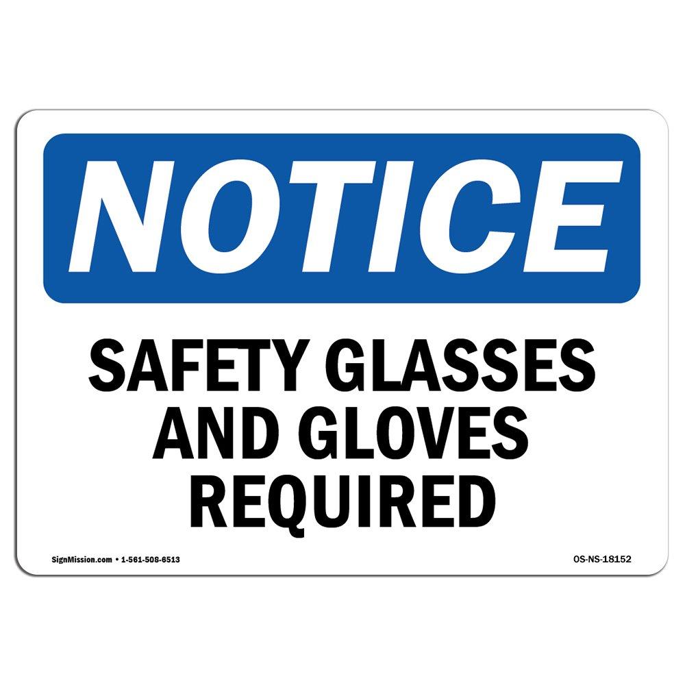 OSHA通知サイン| Heavy Duty Signまたはラベル 7