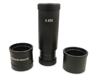 Ccd industrie mikroskop kamera c mount objektiv glas x