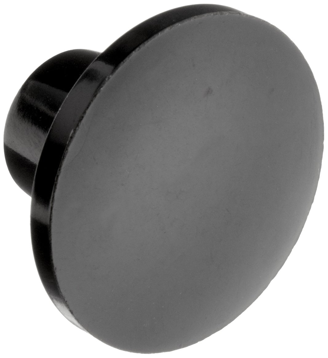 DimcoGray Black Phenolic Push-Pull Knob Female, Brass Insert: 5/16-18'' Thread x 7/16'' Depth, 1-3/8'' Diameter x 7/8'' Height x 5/8'' Hub Dia, 5/8 Hub Length (Pack of 10)
