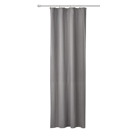 WOLTU #489, Vorhang Gardinen Blickdicht mit kräuselband für schiene,  Leichter & weicher Verdunklungsvorhang für Wohnzimmer Schlafzimmer Tür,  135x245 ...