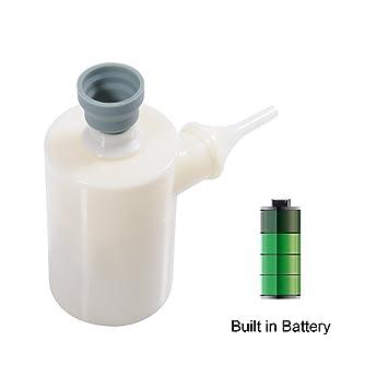 QUMOX Mini Bomba de aire inflable Bomba de aire portátil Bomba Recargable rápidamente infla / desinflama
