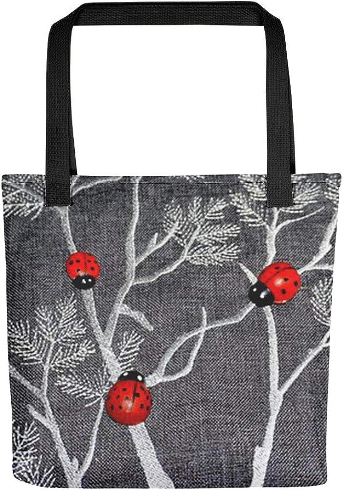 Ladybug Tote bag Diaper Bag Beach Bag Shopping Bag Travel Bag Purse Ladybug Bag Ladybug Tote