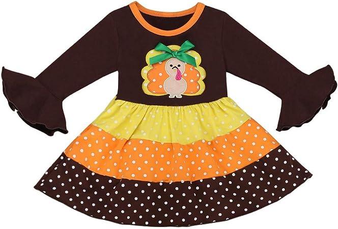 Girls Brown Fleece Turkey Coat Set With Matching Hat 12