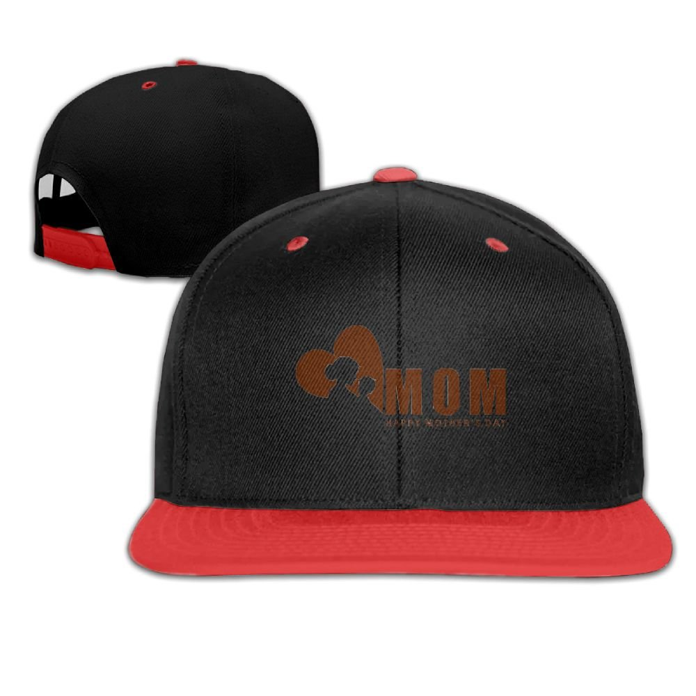 Humaoe Happy Mothers Day Love Mom Fashion Peaked Baseball Caps//Hats Hip Hop Cap Hat Adjustable Snapback Hats Caps for Unisex