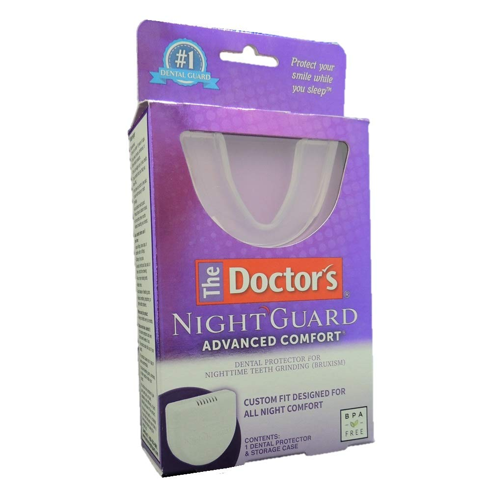 The Doctor's NightGuard Advanced Comfort Dental Protector for Teeth Grinding, by Doctor's by The Doctor's
