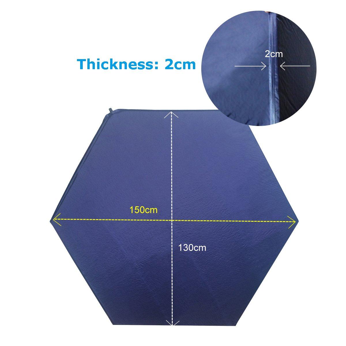 Tappetino per box/ comodo Eco materasso per lettino in fibra per esterni ed interni /Kids pop up per lettino da viaggio per campeggio 140/cm*126/cm
