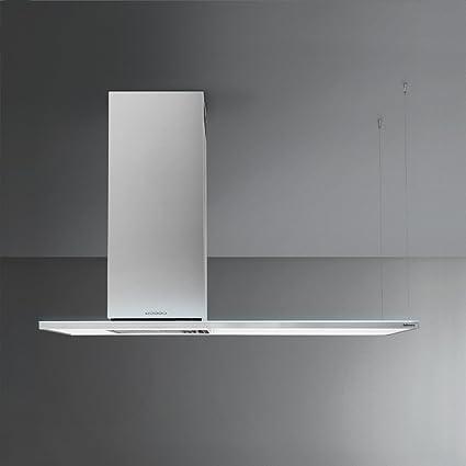Falmec Zenith NRS Isola 120 120 cm Isla Campana eficiencia energética C: Amazon.es: Grandes electrodomésticos