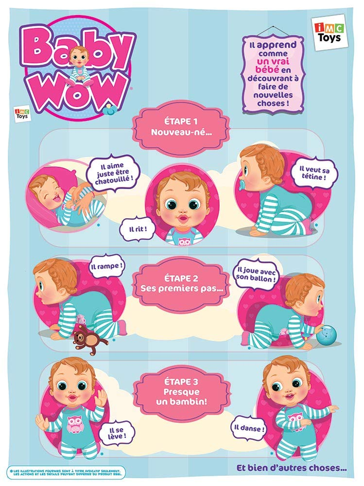 Baby Wow English Version The First Voice Activated Baby Doll Dispatched From UK