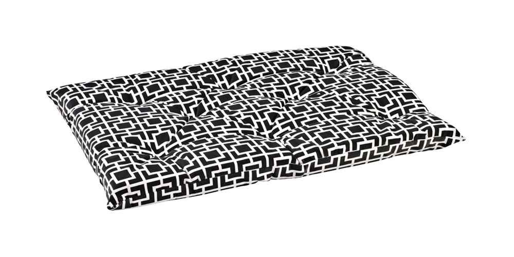 Bowsers Tufted Cushion, XX-Large, Courtyard Grey