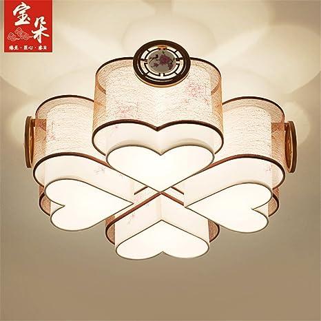 BRIGHTLLT Luz de techo nuevo chino Salón circular luminosa ...