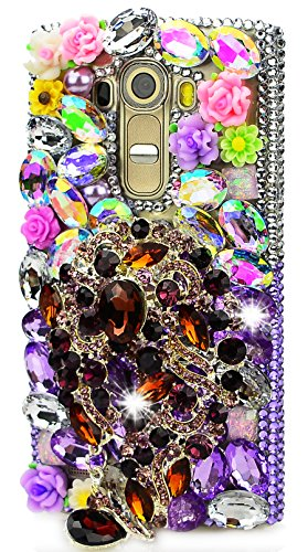 Price comparison product image STENES Sparkly Pretty Strap Rose Flowers Case For Huawei Mate 10 Pro - colorful