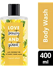 Love Beauty and Planet Body Wash, Coconut Oil & Ylang Ylang, 400 milliliters
