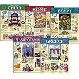 Creative Teaching Press Ancient Civilization, 5-Chart Pack (5557)