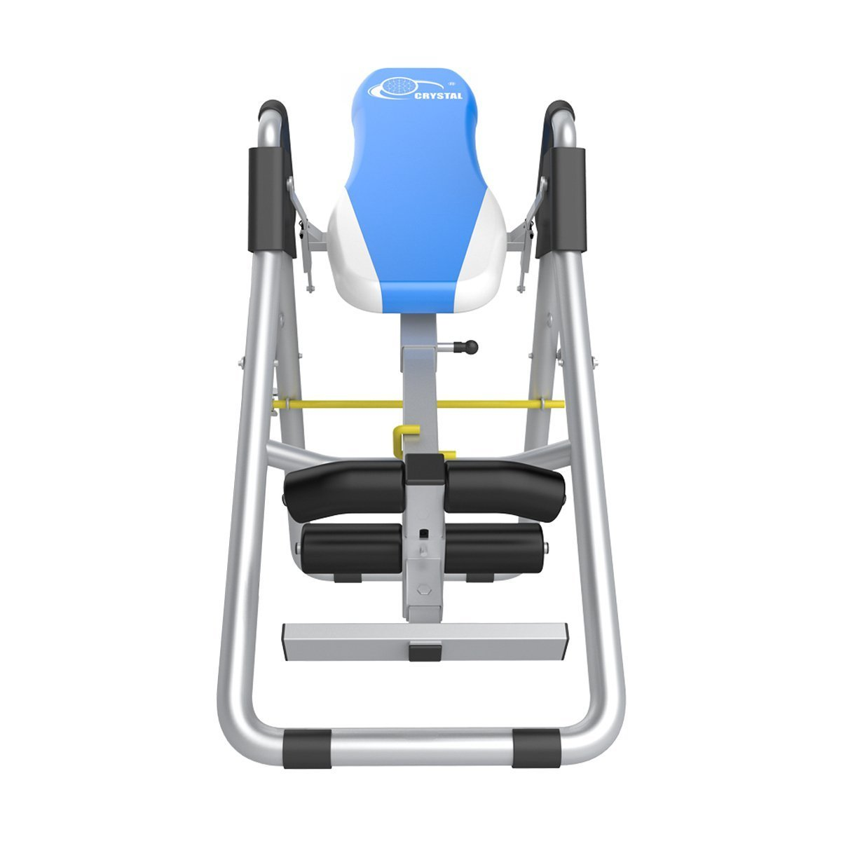 Inversion Therapy Tables for Back Pain Adjustable Therapy Table Foldable Fitness Equipment Back Pain Relief Gravity Inversion Tables for Home Use Sports Equipment-Blue