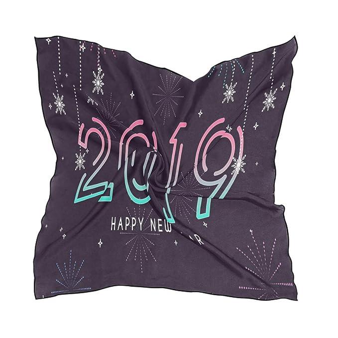 2019 Happy New Year Customized Small Square Handkerchief