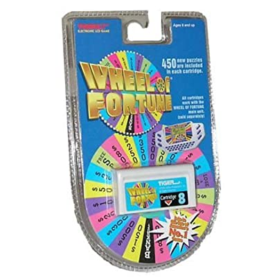 Wheel of Fortune Tiger Cartridge #8: Toys & Games
