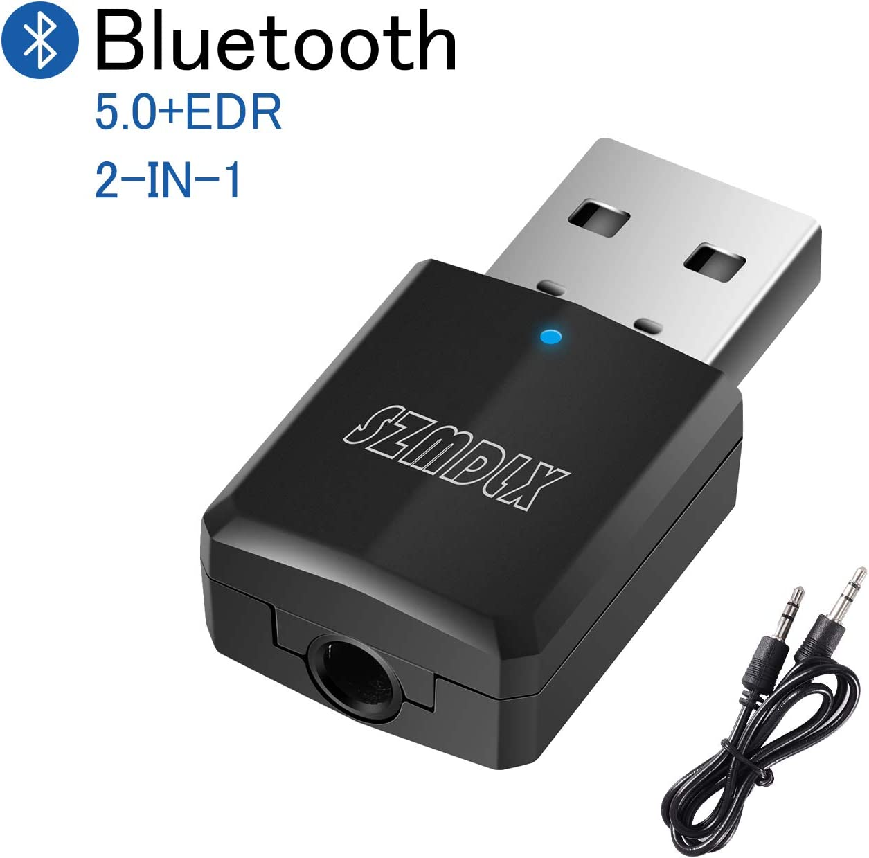 3.5mm Wireless USB Bluetooth Aux Stereo Audio Adapter Plug and Play