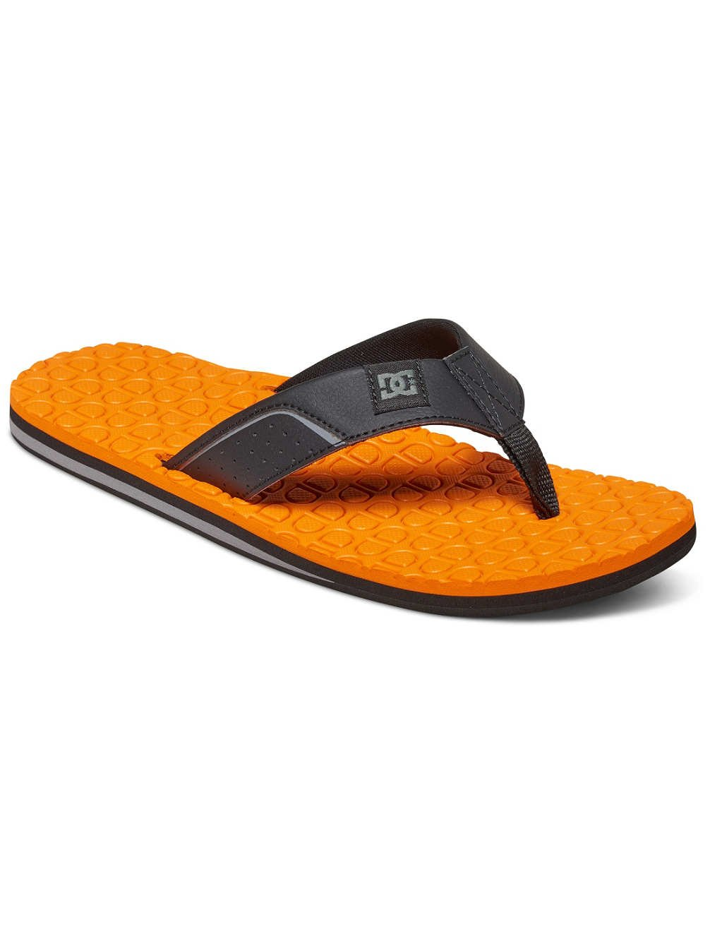 DC Shoes Kush - Sandalias Para Hombre ADYL100022 39 EU Noir - Black/Black/Orange