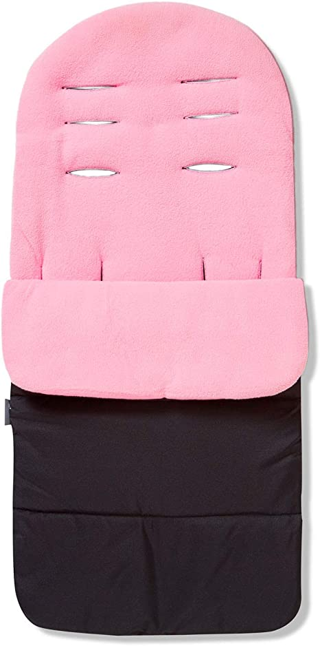 Premium Footmuff//Cosy Toes Compatible with iCandy Peach Jogger Pink Rose