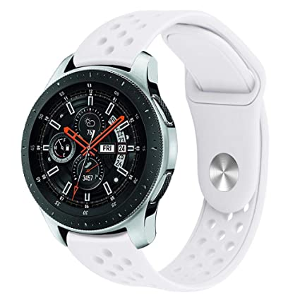 T Correa de Repuesto para el Reloj Inteligente Samsung Galaxy Watch S4 46MM,