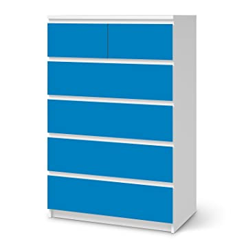 Creatisto Klebesticker Tapete Folie Für Ikea Malm 6 Schubladen (Hoch)    Möbel Verschönern Folie