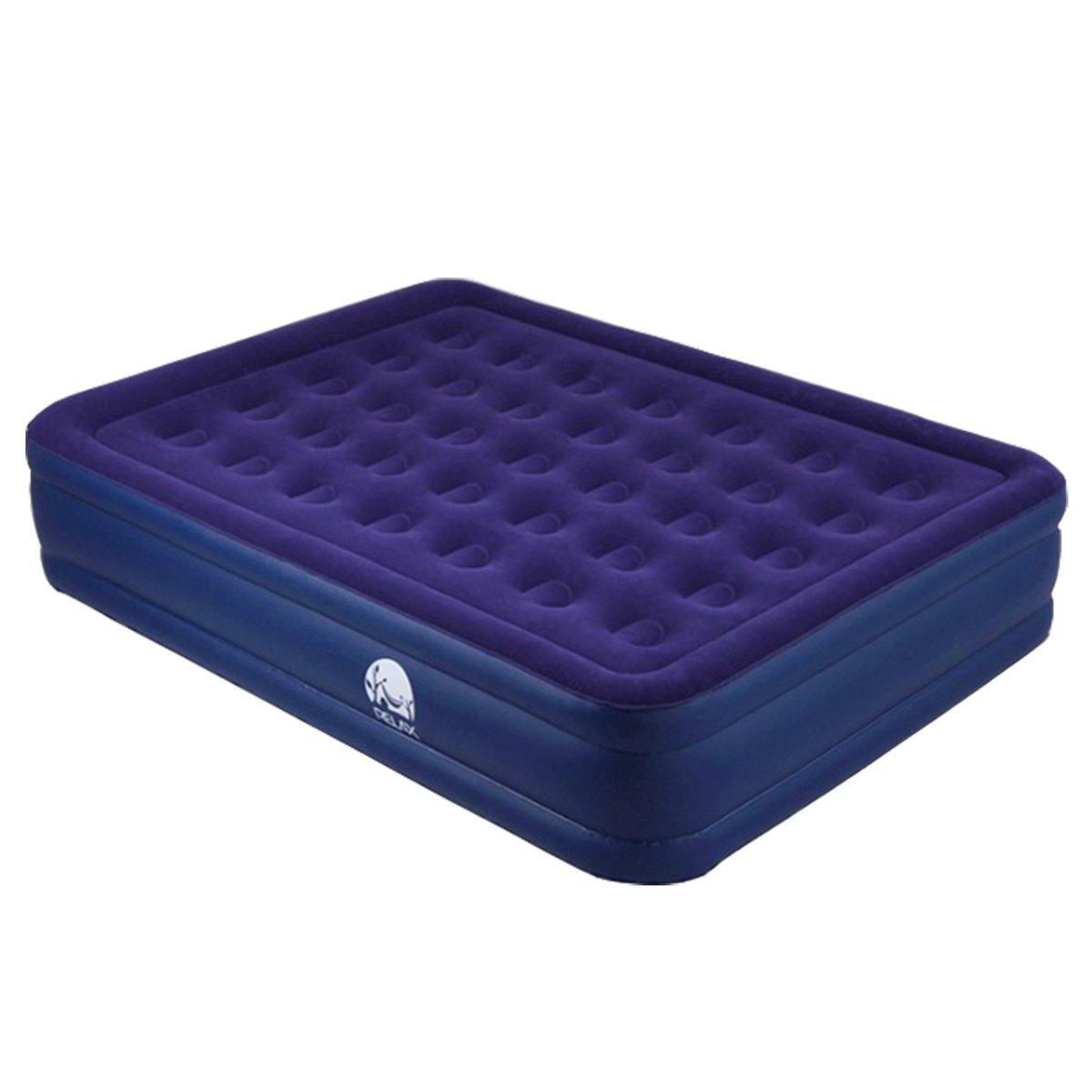 ALASKA2YOU Air mattress double built in pump 203x152x47cm