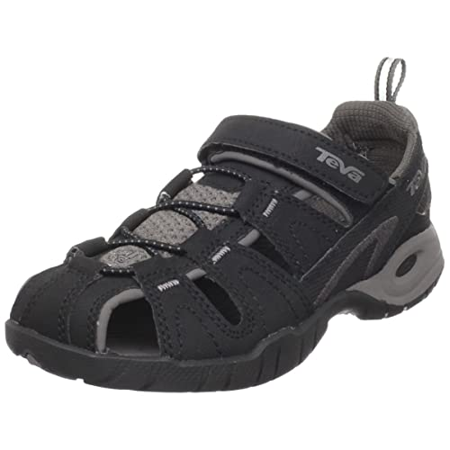 285b066b9640 Teva Dozer 3 Kids Sandal Black 9 M US Toddler  Amazon.in  Shoes   Handbags